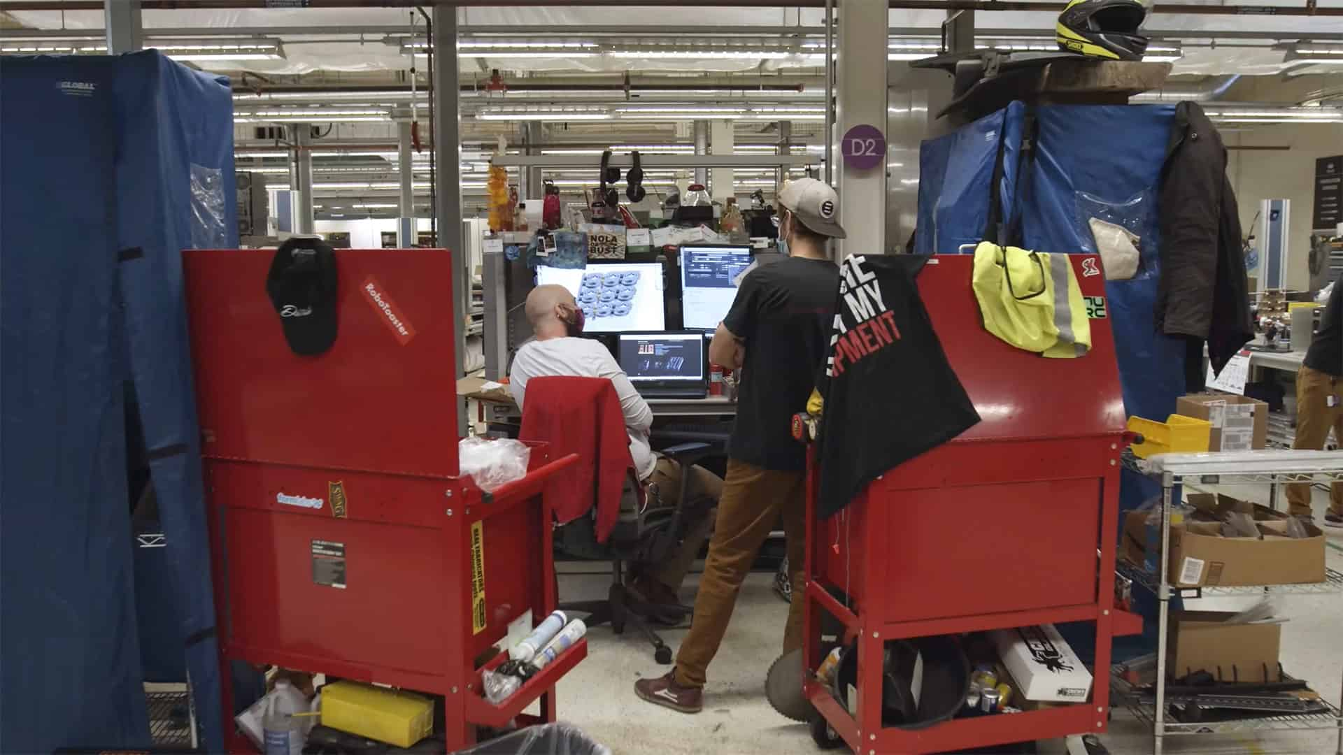 entrepreneurs use sophisticated 3D software for product development