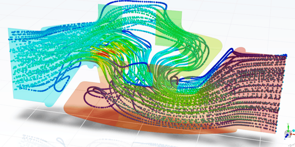(Image of Computational Fluid Dynamics (CFD) courtesy of Fastway Engineering.)
